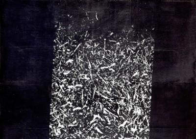 Empreinte de paille, détail, 2010